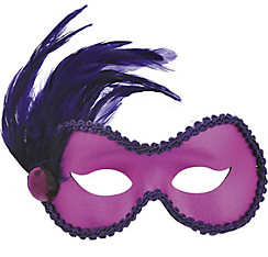 Purple Ballroom Masquerade Mask
