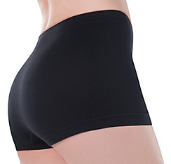 Adult Black Boyshorts