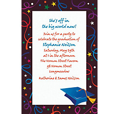 Custom Grad Celebration Invitations