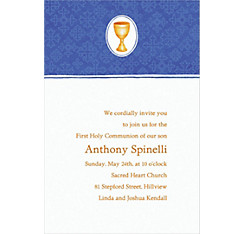 Mod Chalice Custom Invitation