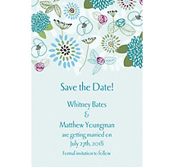 Prancing Pattern Cool Custom Invitation