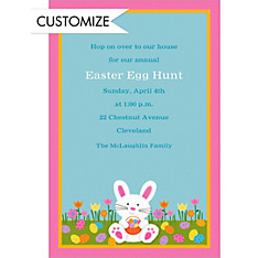 Custom Easter Friends Invitations