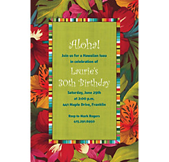 Beach Bound Custom Invitation