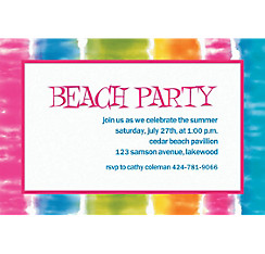 Summer Lovin' Custom Invitation