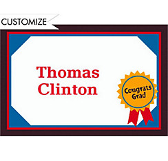Custom Diploma Graduation Thank You Notes