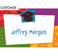 Custom Way to Go Grad Thank You Notes