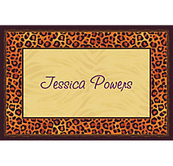 Safari Chic Custom Thank You Note