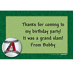 Arizona Diamondbacks Custom Thank You Note