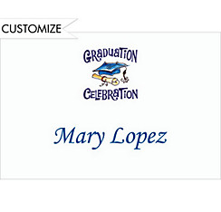 Graduation Celebration Custom Thank You Notes