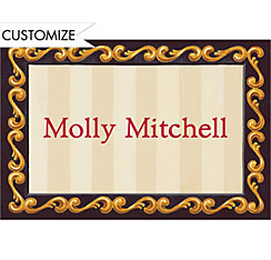 Red Grad Portrait Custom Thank You Notes