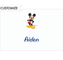 Mickey Mouse Custom Thank You Note