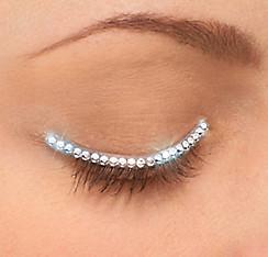 Silver Eyelid Jewel