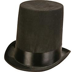 Black Stovepipe Hat