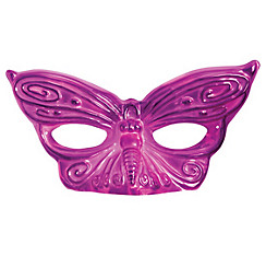 Magenta Butterfly Masquerade Mask