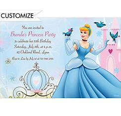 Cinderella Fantasy Custom Invitation