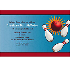 It's A Strike Custom Invitation