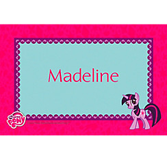 My Little Pony Custom Thank You Note