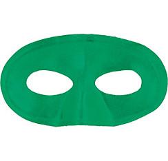 Green Fabric Eye Mask