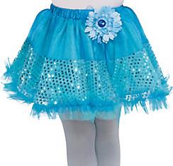 Girls Aqua Fairy Tutu