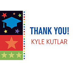 Bright Graduation Custom Thank You Notes