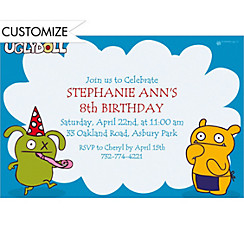 Uglydoll Custom Invitation