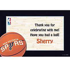 San Antonio Spurs Custom Thank You Note