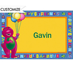 Barney Custom Thank You Note
