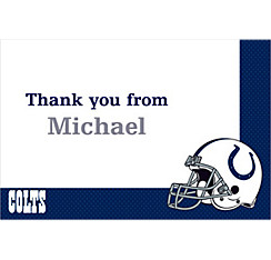 Indianapolis Colts Custom Thank You Note
