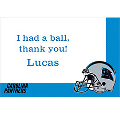 Carolina Panthers Custom Thank You Note