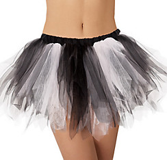 Adult Black and Bone Tutu