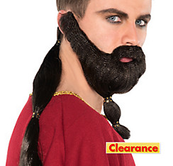 Medieval Horse Warrior Hair Set
