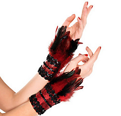 Fire Bird Feather Cuffs