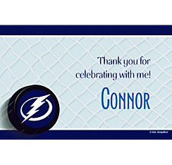 Tampa Bay Lightning Custom Thank You Note