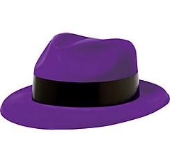 Totally 80s Neon Purple Fedora