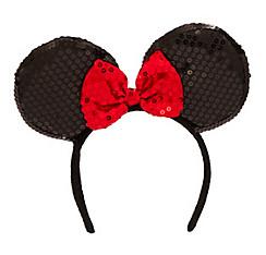 Minnie Mouse Sequin Bow Headband