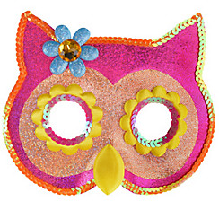 Child Sequin Owl Mask