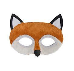 Child Plush Fox Mask