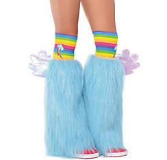 Rainbow Dash Furry Leg Warmers - My Little Pony