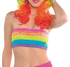 Electric Party Rainbow Bandeau