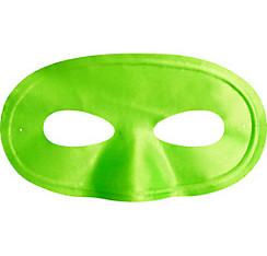 Black Light Neon Green Fabric Eye Mask