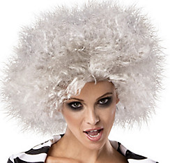 Female Beetlejuice Wig