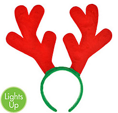 Light-Up Reindeer Antlers Headband