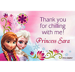 Frozen Custom Thank You Note