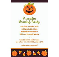 Halloween Friends Halloween Custom Invitation