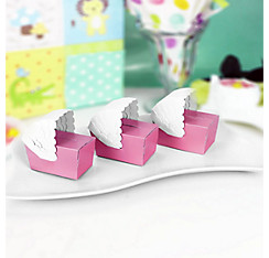 Pink Bassinet Baby Shower Favor Boxes 24ct