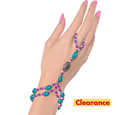 Beaded Finger Bracelet