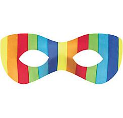 Rainbow Domino Mask