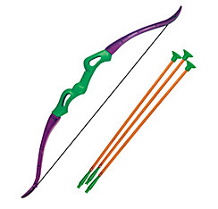 Green Toy Bow & Arrow Set