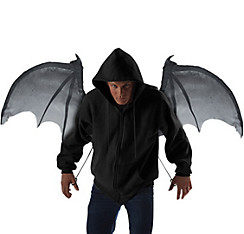 Gray Bloodnight Mechanical Bat Wings