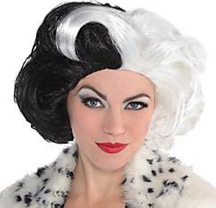 Cruella de Vil Wig Couture - 101 Dalmatians